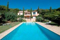Villa Bambous Ferienhaus in Sainte Maxime Côte d'Azur Südfrankreich-Haus und Pool