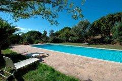 Villa Bambous Ferienhaus in Sainte Maxime Côte d'Azur Südfrankreich-Pool