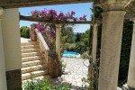 Belaigo Ferienhaus in Les Issambres Côte d'Azur Südfrankreich-Aufgang zum Balkon