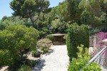 Belaigo Ferienhaus in Les Issambres Côte d'Azur Südfrankreich-Blick auf den Carport