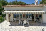 Belaigo Ferienhaus in Les Issambres Côte d'Azur Südfrankreich-Balkon zum Haus