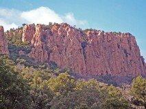 Blavet Felsen oberhalb
