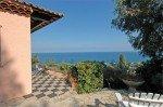 Villa Dolmens Ferienhaus in Les Issambres Côte d'Azur Südfrankreich-Terrasse mit Meerblick