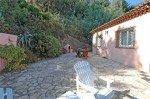 Villa Dolmens Ferienhaus in Les Issambres Côte d'Azur Südfrankreich-hintere Terrasse