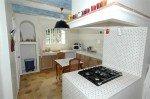 Villa Garennes Ferienhaus in Les Issambres Côte d'Azur Südfrankreich-Küche
