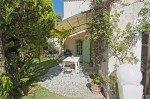 Villa Garennes Ferienhaus in Les Issambres Côte d'Azur Südfrankreich-Küchenterrasse