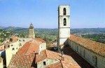 Grasse an der Côte d'Azur in Südfrankreich - Blick über den Dom