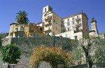Grasse an der Côte d'Azur in Südfrankreich - Stadtmauer