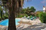 Latour Ferienhaus in Les Issambres Côte d'Azur Südfrankreich-Pool und Garten