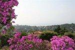 Latour Ferienhaus in Les Issambres Côte d'Azur Südfrankreich-Ausblick Garten und Meer