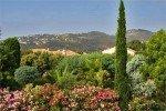 Latour Ferienhaus in Les Issambres Côte d'Azur Südfrankreich-Ausblick Garten