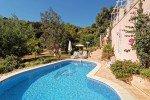 Pool und Garten, Haus Levellier in Les Issambres an der Cote d Azur