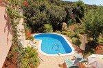 Pool von der Treppe, Haus Levellier in Les Issambres an der Cote d Azur