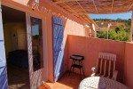 Balkon der Wohnung 1 im Haus Levellier in Les Issambres an der Cote d Azur