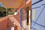 Balkon der Wohnung 2 im Haus Levellier in Les Issambres an der Cote d Azur