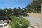 Villa Ligurienne Ferienhaus in Les Issambres Côte d'Azur Südfrankreich-Bouleplatz und Garten