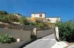 Villa Ligurienne Ferienhaus in Les Issambres Côte d'Azur Südfrankreich-Haus und Einfahrt