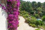 Lorelyn Ferienhaus in Les Issambres Côte d'Azur Südfrankreich-Garten am Haus