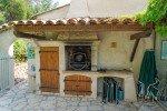 Lorelyn Ferienhaus in Les Issambres Côte d'Azur Südfrankreich-Grill