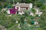 Lorelyn Ferienhaus in Les Issambres Côte d'Azur Südfrankreich-Haus und Garten