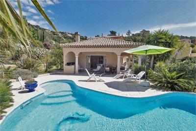 villa mit garten und pool | möbelideen, Gartengestaltung