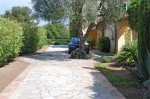 Olivade Ferienhaus in Sainte Maxime Côte d'Azur Südfrankreich-Einfahrt