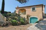 Olivade Ferienhaus in Sainte Maxime Côte d'Azur Südfrankreich-Haus und Garage