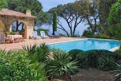 Olivade Pool, Garten und Meer