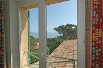 Olivade Ferienhaus in Sainte Maxime Côte d'Azur Südfrankreich-Blick auf das Meer aus Schlafzimmer 4