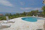 Pastourelle Ferienhaus in Les Issambres Côte d'Azur Südfrankreich-Pool und Ausblick