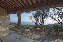 Pastourelle Terrasse und Ausblick