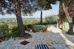 Ricoulette Ferienhaus in Les Issambres Côte d'Azur Südfrankreich-obere Terrasse