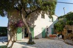 Ricoulette Ferienhaus in Les Issambres Côte d'Azur Südfrankreich-Haus und Terrasse