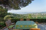 Ricoulette Ferienhaus in Les Issambres Côte d'Azur Südfrankreich-Blick von der Terrasse auf den Golf von St. Tropez