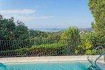 Ricoulette Ferienhaus in Les Issambres Côte d'Azur Südfrankreich-Blick vom Pool