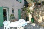 Ricoulette Ferienhaus in Les Issambres Côte d'Azur Südfrankreich-Küchen-Terrasse