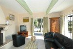 Ricoulette Ferienhaus in Les Issambres Côte d'Azur Südfrankreich-Sitzecke Wohnzimmer