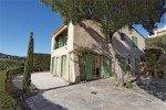 Ricoulette Ferienhaus in Les Issambres Côte d'Azur Südfrankreich-Terrasse und Haus
