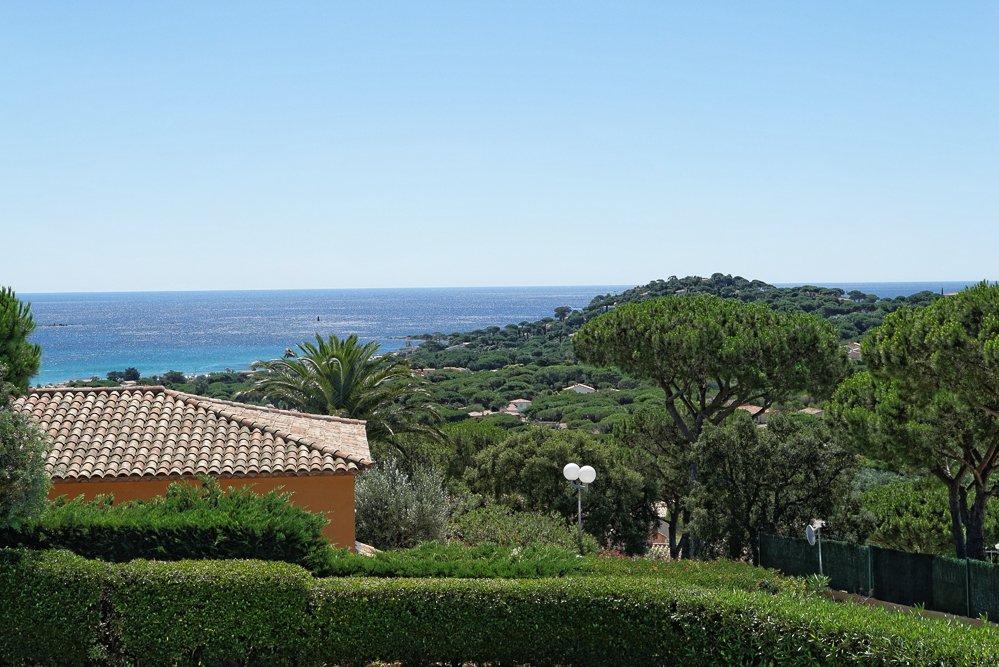 Rigaou-Blick aufs Meer vom Balkon
