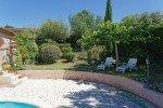 Villa Rigaou Ferienhaus in Sainte Maxime Côte d'Azur Südfrankreich-im Schatten des Maulbeerbaums