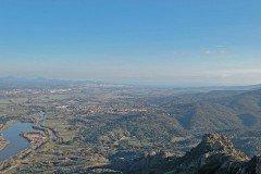 Rocher Rouge Blick nach Osten vom Gipfel