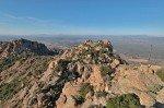 Rocher Rouge Blick nach Nordwesten vom Gipfel