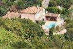 Luftaufnahme Ferienhaus Triton G in Les Issambres an der Cote d Azur