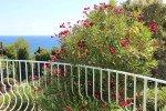 blühender Oleander Ferienhaus Triton G in Les Issambres an der Cote d Azur