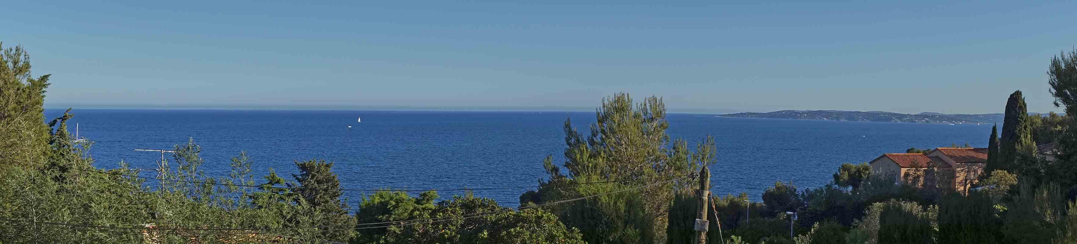 Tritons- Blick nach Süden auf den Golf von St. Tropez