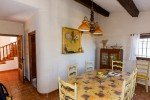 Varoise Ferienhaus in Les Issambres Côte d'Azur Südfrankreich-Essecke Küche