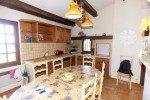 Varoise Ferienhaus in Les Issambres Côte d'Azur Südfrankreich-Küche