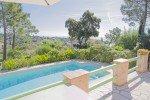 Terrasse und Pool des Hauses Varoise in Les issambres an der Cote d Azur
