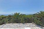 Belaigo Ferienhaus in Les Issambres Côte d'Azur Südfrankreich-Blick vom Balkon