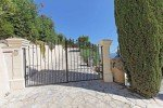 Villa Dolmens Ferienhaus in Les Issambres Côte d'Azur Südfrankreich-Einfahrt
